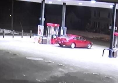 Do you recognize this car? If so contact the Canton Police Department. If could have been used in conjunction with the unlawful use of a debit card case.