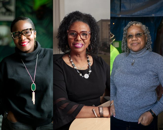 From left, Cleveland entrepreneur Evelyn Burnett, Columbus CEO Gayle Saunders and Cincinnati business owner Barbara Smith, have dealt with many obstacles trying to get ahead as Black women in business, and they work with a statewide organization to help others facing the same challenges.