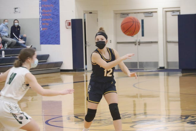 Halle Winjum and the Crookston girls' basketball team improved to 4-1 on the season with a 73-29 win over Roseau Tuesday.