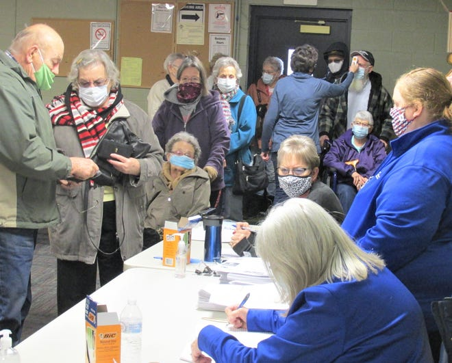 The Darby Snyder Senior Center in Millersburg closed around this time last year but recently reopened to host vaccination clinics for Holmes County residents. Senior centers in Ohio will have to wait for further guidance before they can reopen without pandemic restrictions.