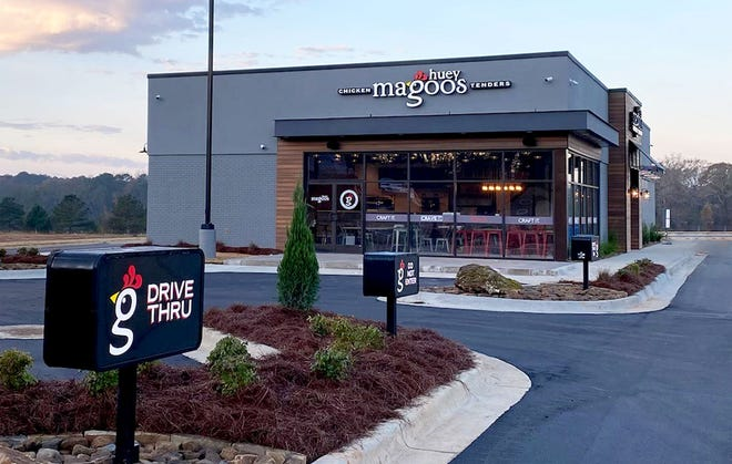 A franchisee plans to open up to three Huey Magoo's Chicken Tenders in St. Johns County, marking the chain's first restaurants in Northeast Florida.