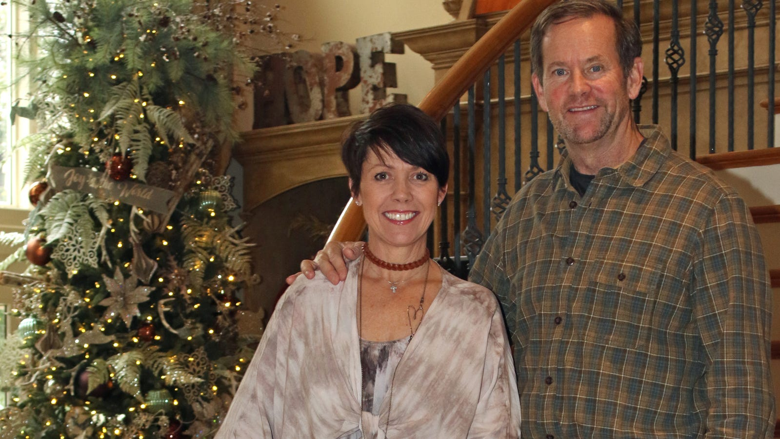 In sickness and in health     Crisis strengthens couple's love, faith in God