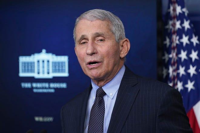 Dr. Anthony Fauci,  director of the National Institute of Allergy and Infectious Diseases and a top infectious disease expert, is set to speak in a virtual event for the Vanderbilt University Class of 2021.