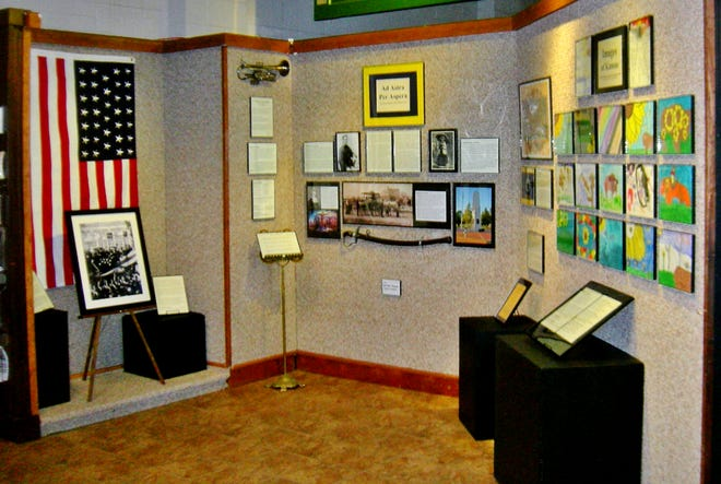 The Finney County Historical Museum is celebrating Kansas' birthday with its current Front Door Gallery exhibit.