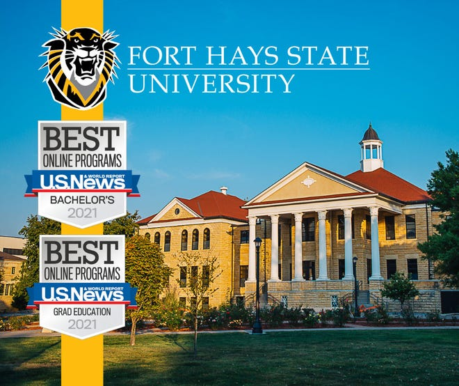U.S. News & World Report ranks Fort Hays State University Online among the best in the nation.