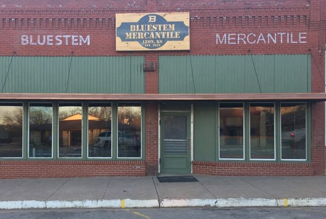 In early 2020, the Bluestem Mercantile store opened in downtown Leon.