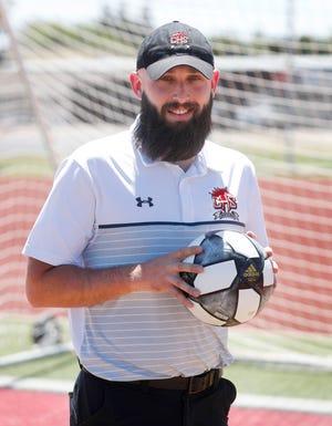 Coronado High School coach Alistair Caldwell.