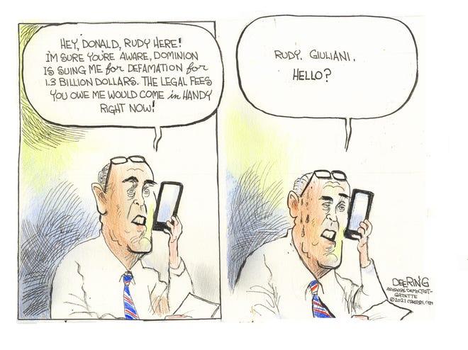 Today's editorial cartoon (Jan. 28, 2021)