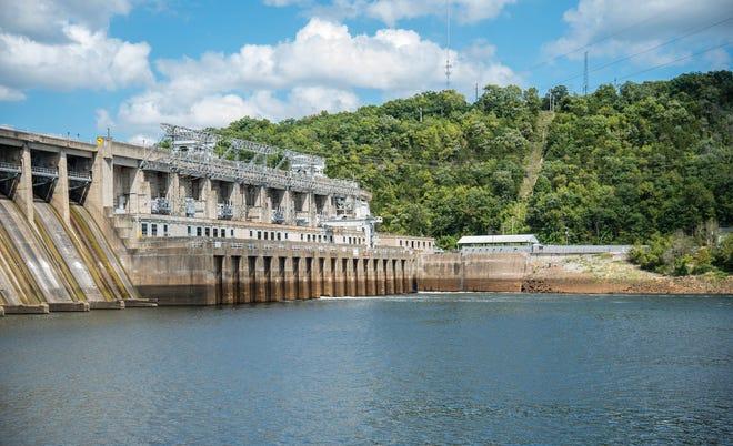 Bagnell Dam.