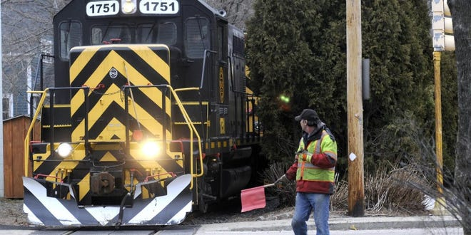 Grafton and Upton Railroad trains will begin running through Milford to Franklin starting next week.