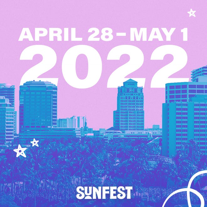 SunFest 2022 is scheduled for April 28 to May 2 on the West Palm Beach waterfront.