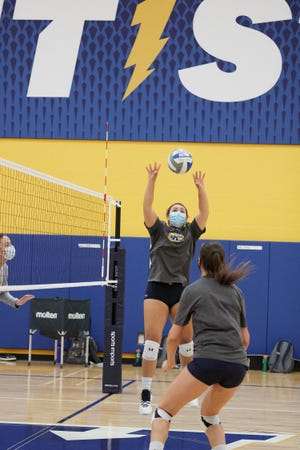 Junior Alex Haffner will lead the Kent State volleyball team from the setter position during the winter 2021 season, which begins on Thursday.