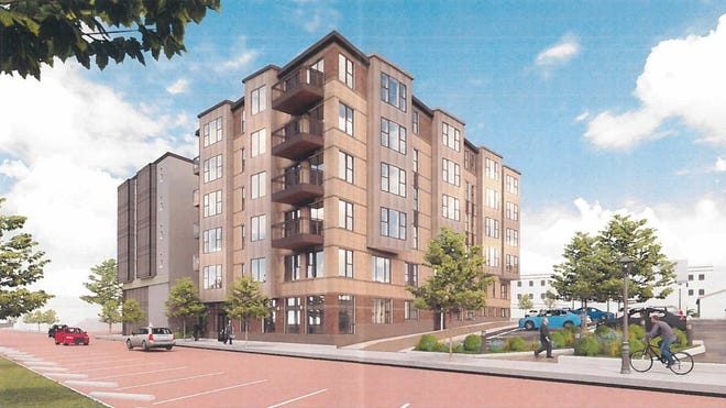 A new apartment building on Franklin Avenue in Kent received site plan approval Tuesday evening.