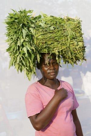 Ugandan woman Apiyo Kevin.