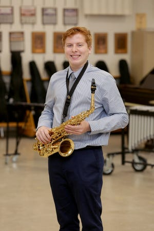 Andrew Mallamaci is one of The Canton Repository's Stark State College Teens of the Month for January. Mallamaci participates in several of Hoover High School's bands and musical groups.