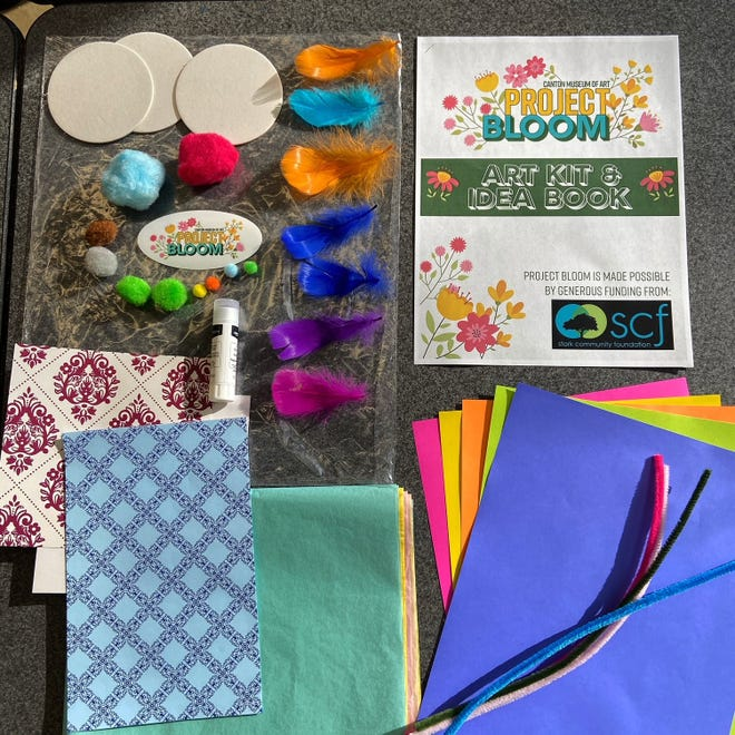 PROJECT BLOOM. Admission is free from 10 a.m. to 8 p.m. on First Friday at the Canton Museum of Art at 1001 Market Ave. N, but timed tickets are required for admission and can be ordered at CantonArt.org. Kids may pick up their free Project Bloom art kits, part of a community mixed-media flower garden project.