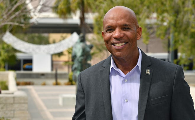 Marlon Brown is the newly appointed city manager for Sarasota.