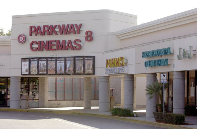 The Parkway Cinemas at North Lockwood Ridge Road and University Parkway in Sarasota will soon become a property of Touchstar Cinemas.