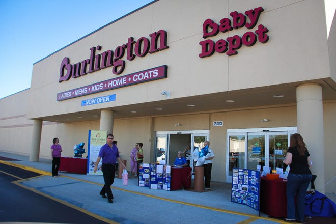 Burlington is opening two stores in Sarasota County – one in Sarasota and one in Venice. Pictured is a Burlington store in Ocala on its opening day in 2013.