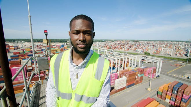 Joemell Williams was part of the inaugural Youth Learning Equipment and Safety program at GPA. He was able to fast-track his career as a crane operator by taking classes and working with a mentor.