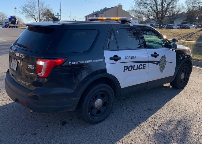 Topeka police responded Tuesday evening to a Sonic Drive-In in North Topeka, where they found two gunshot victims who'd suffered injuries that weren't considered life-threatening.