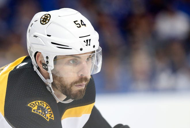 Former Bruins defenseman Adam McQuaid isn't making a big deal out of his retirement from playing hockey.
