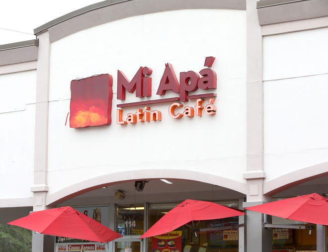 Mi Apa' Latin Cafe in the Westgate Regency Shopping Center in Gainesville is shown on Wednesday. The restaurant's owners plan to open a third restaurant in Jonesville soon.