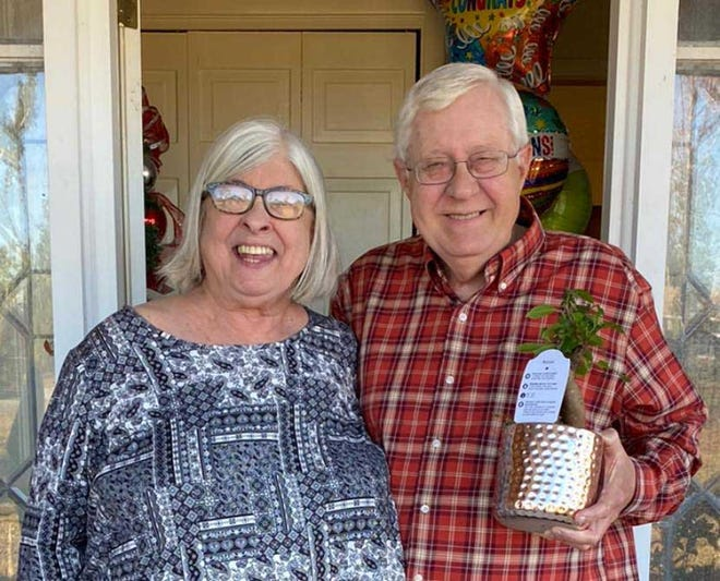Dr. Ed and Beth Deluzain were named the 2021 Teachers of a Lifetime.