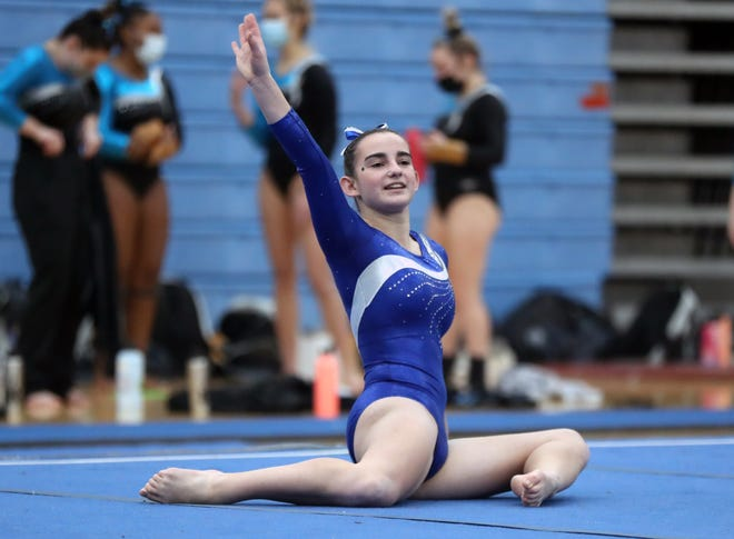 Davidson's Megan McCabe placed ninth in the all-around (32.25) in a six-team meet Jan. 25 at Darby. The Wildcats finished third (124.5) as the hostPanthers (136.95) won.