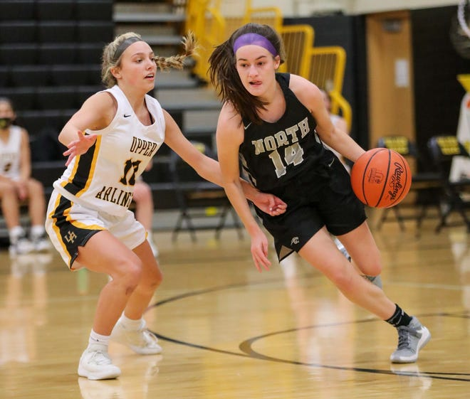 """Adi Dorman said she has """"become more confident in attacking the basket"""" as North's point guard. She was averaging 5.8 points through 17 games for the Panthers, who were 6-11 overall and 5-2 in the OCC-Ohio before playing Grove City on Feb. 5."""