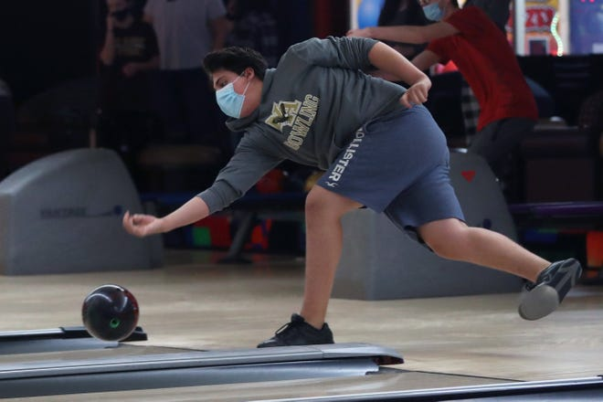 Noble Conn has been a key contributor for the New Albany boys bowling team, whose 7-1 start was the best in program history. Conn had an average of 180.8 during that span.