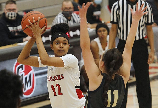 After losing their first eight games, Skyiah Johnson and the Cruisers girls basketball team had won three in a row before playing Lancaster on Jan. 29.