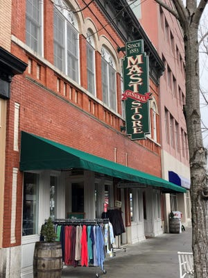 Mast General Store in Hendersonville opened in 1995 and has no plans to close.