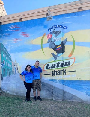 Siolys Munoz and Yeiber Asconio opened the Latin Shark in Cocoa Beach in December in a space previously occupied by Roberto's Little Havana.