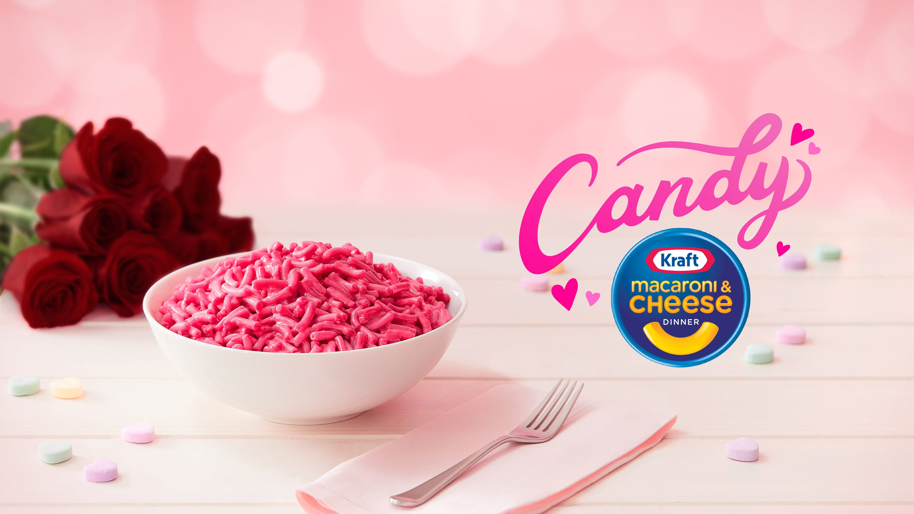 Pink mac and cheese: Kraft releases Valentine's Day product that tastes like candy