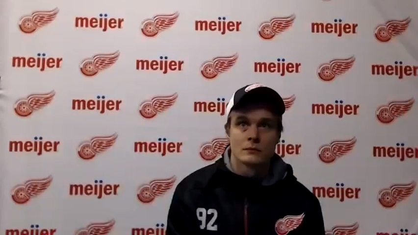Vladislav Namestnikov: Red Wings can't get discouraged