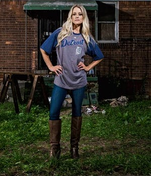 """Nicole Curtis's new show, """"Rehab Addict Rescue,"""" was filmed entirely in Detroit."""