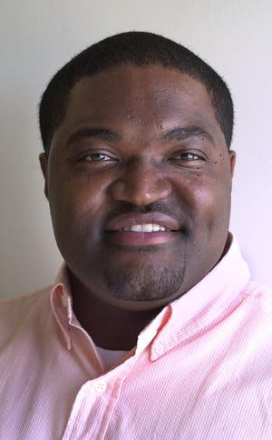 Sekou Smith in June 2002, after he became the Indianapolis Star's new NBA beat writer.