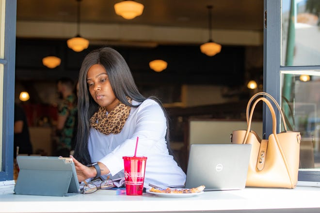 Kennette Toussaint completed her bachelor's degree in general studies online through the University of Louisiana at Lafayette and is now teaching in St. Landry Parish.