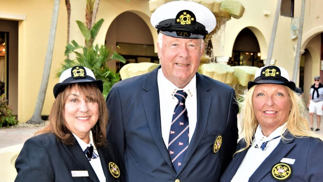 The Marco Bay Yacht Club had a change of watch via Zoom. The new bridge comprised of Commodore Dr. Robert White, Vice Commodore Sandy LaMontagne, and Rear Commodore Linda Gagnon.