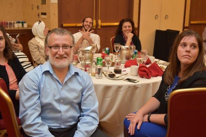 Dr. Ahmad Nasef at a Syrian American Medical Society (SAMS) Foundation event.