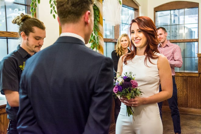Lakefront Brewery is again offering marriage ceremonies at its brewery on Valentine's Day.