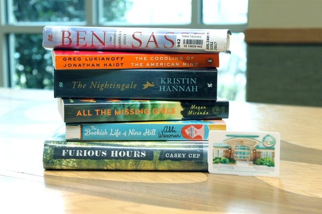 These are some of the books that the Baxter County Library's two books clubs will be reading this year.