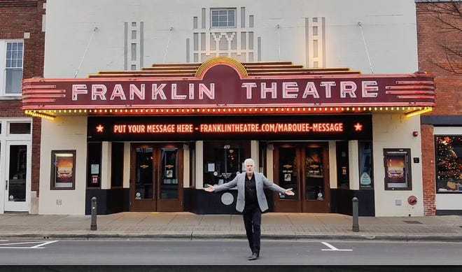 Patrick Cassidy will now host his Studio Tenn show live from the Franklin Theatre.