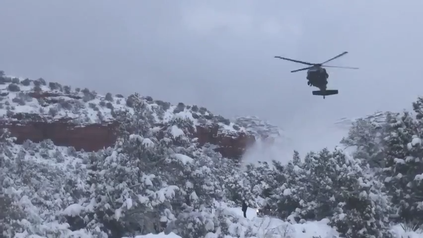 Climbers stranded near Sedona for 2 days rescued