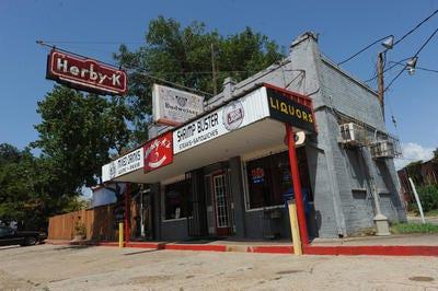 Herby K's restaurant on Pierre Avenue in Shreveport.