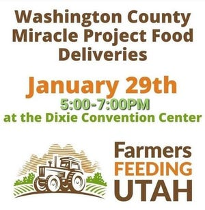 Non-profit Farmers Feeding Utah is making its next food delivery in St. George.