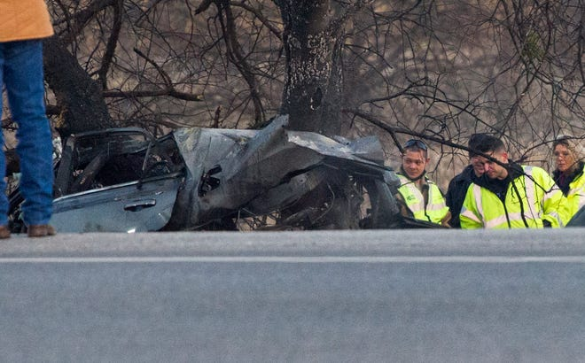 Multiple law enforcement agencies responded to a fatal wreck Wednesday on Iowa Park Road. The vehicle was fleeing from a county deputy when it went off the road killing his passenger. The was taken to the hospital with critical injuries.