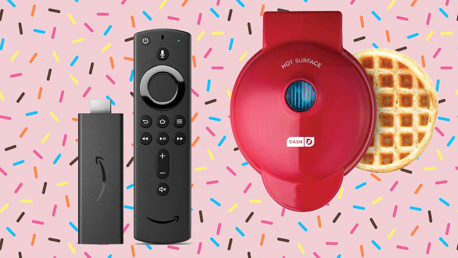 Save big on the Dash waffle maker and Amazon Fire Stick Lite