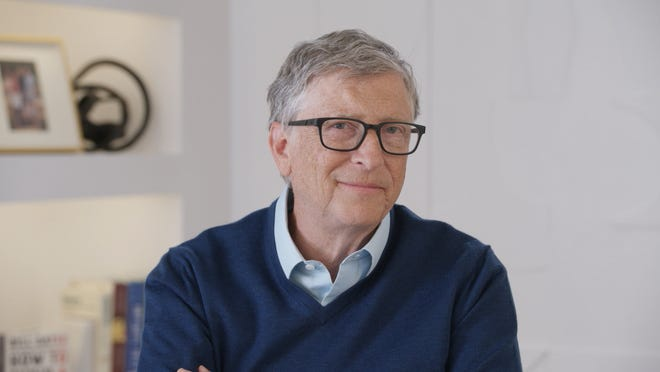 Bill Gates spoke to USA TODAY's Elizabeth Weise about the Gates Foundation's work with vaccines.